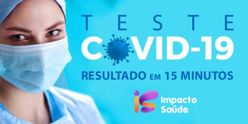 Teste Covid-19 para imigrantes em São Paulo