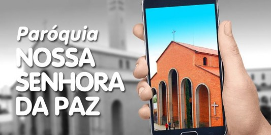 Um alto momentâneo nas missas on-line da paróquia Nossa Senhora da Paz
