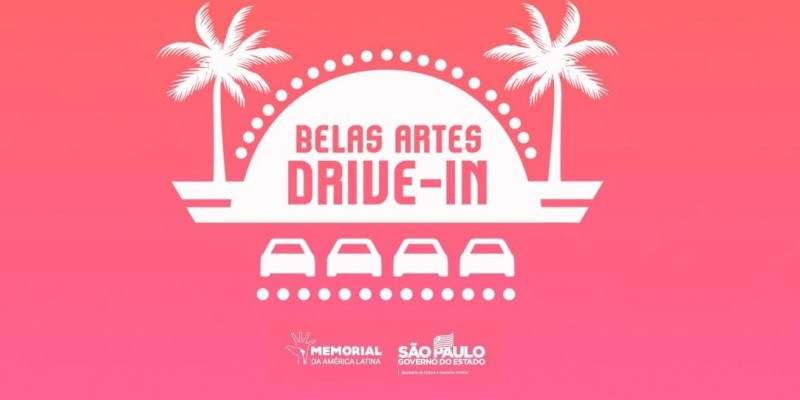 Belas Artes Drive-in no Memorial da América Latina