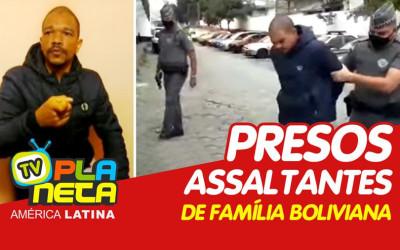 Policiais do 19° BPM/M efeituaram a prisão do segundo assaltante de uma família de bolivianos em SP