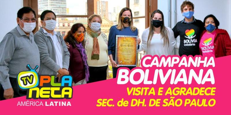 Campanha boliviana agradece solidariedade da Prefeitura de São Paulo durante pandemia do coronavírus