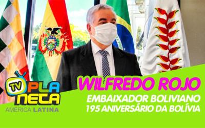 Embaixador da Bolívia em Brasil nos 195 anos da independência da Bolívia