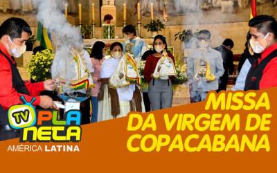Missa de saúde em devoção às Virgens de Copacabana e Urkupiña