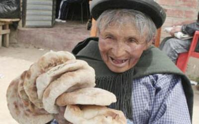 Pão de LAJA, patrimônio da cidade de La Paz na Bolívia
