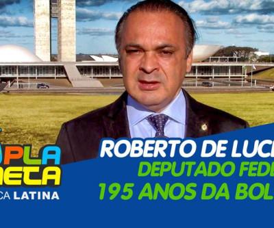 Roberto De Lucena Deputado Federal do Brasil no dia da independência da Bolívia