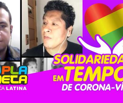 Campanha BOLÍVIA SOLIDÁRIA foi pauta na LIVE do MigraMundo