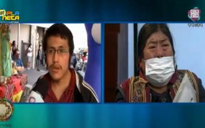 Jovem imigrante desde o Brasil tranquiliza mãe que ficou na Bolívia