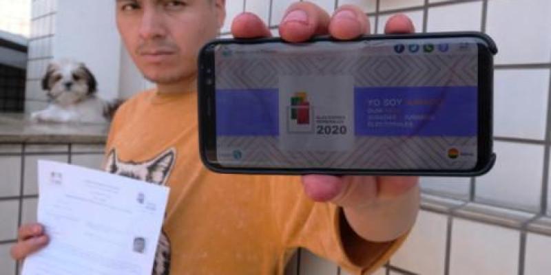 Andamento na notificação de júris eleitorais para Eleições Gerais Bolívia 2020 na cidade de São Paulo