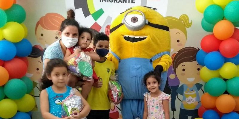 Começou a Campanha Dia das Crianças 2020 no centro do Imigrante em São Paulo