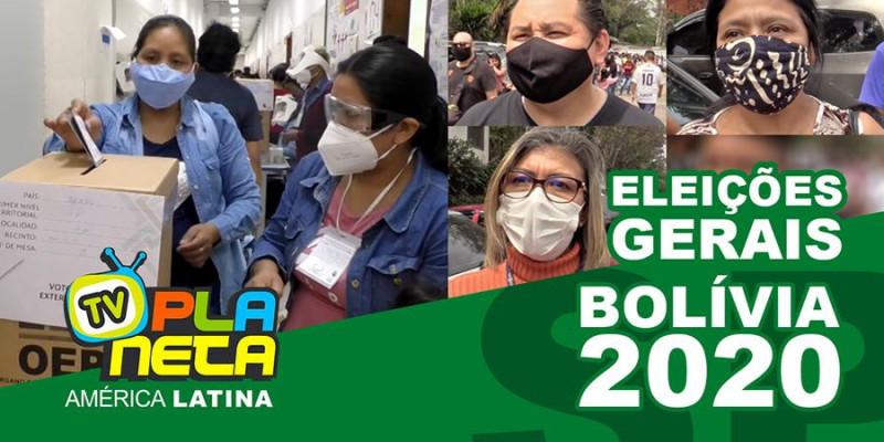 Eleições Gerais Bolívia 2020 em São Paulo - Brasil