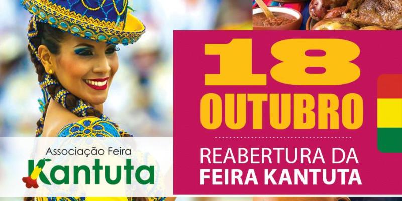 Feira Kantuta retoma atividades neste domingo 18 de outubro no bairro do Canindé em São Paulo