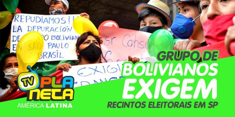 Mulheres são destaque em reivindicação por recintos eleitorais para as Eleições Gerais Bolívia 2020