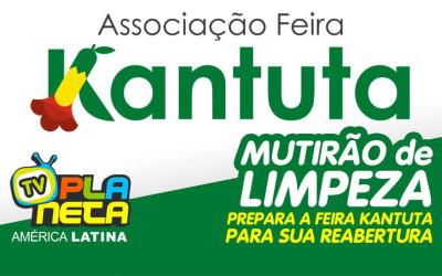 Mutirão de feirantes prepara a Feira Kantuta para sua reabertura marcada para este 18 de outubro