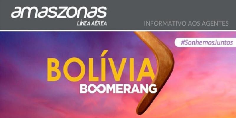 Amaszonas oferece tarifas especiais de ida e volta para a Bolívia