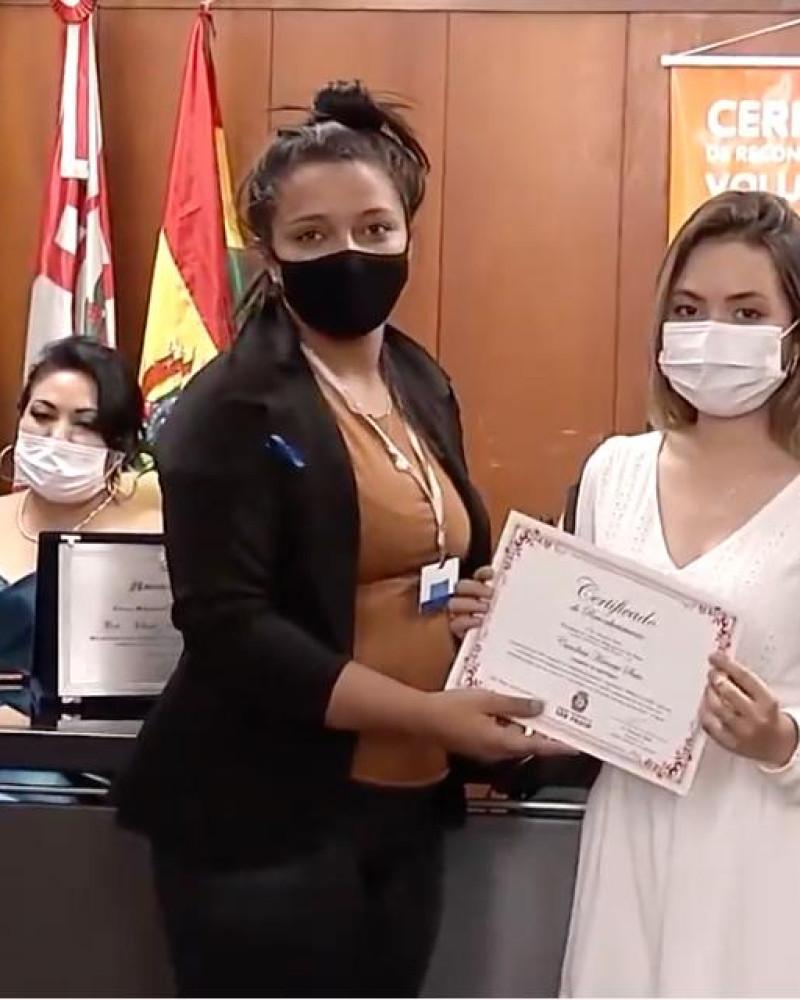 Profissionais da saúde são homenageados na Câmara Municipal de São Paulo