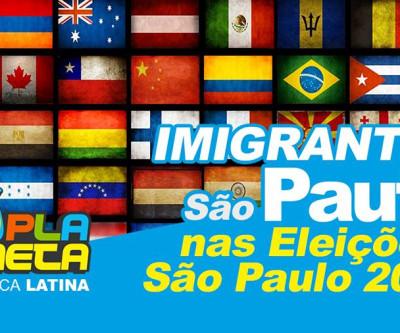 Candidatos prometem trabalhar pelos imigrantes se eleitos em São Paulo