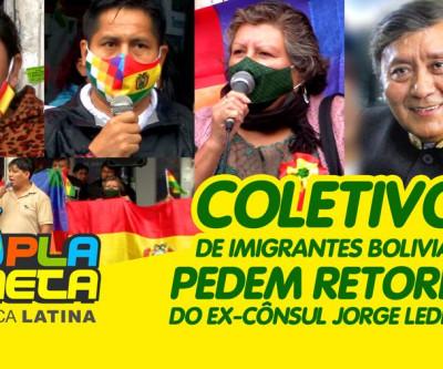Coletivos de imigrantes bolivianos pedem retorno de ex-cônsul Jorge Ledezma