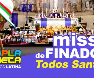 Missa de finados - TODOS SANTOS - na Igreja da Paz em São Paulo