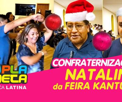 Confraternização de Natal, traz união e esperança a feirantes da Feira Kantuta