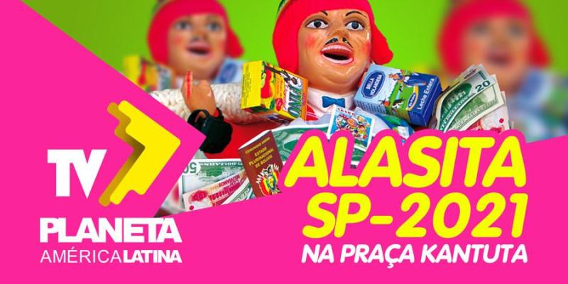 ALASITA 2021 em tempos de pandemia na feira Kantuta em São Paulo