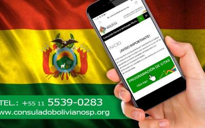 Novo site do Consulado Boliviano prevê aproximar os serviços consulares com a comunidade boliviana em SP