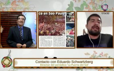 La Puerta Del Sol foi pauta na rede de comunicação RTP na Bolívia
