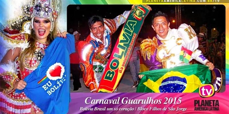 Uma bela lembrança do samba enredo que homenageou a migração boliviana no carnaval 2015