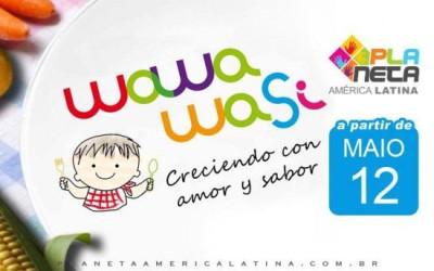 1º WAWA WASI na cidade de São Paulo, para crianças de 0 a 3 anos