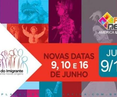 23ª Festa do Imigrante - 9, 10 e 16 de junho