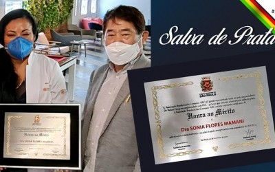 Boliviana recebe maior homenagem concedida pela Câmara Municipal de São Paulo