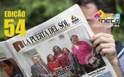 Edição nº 54 do Jornal boliviano - La Puerta Del Sol