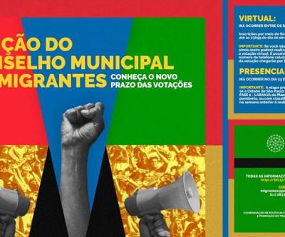A eleição do Conselho Municipal de Imigrantes foi adiada!