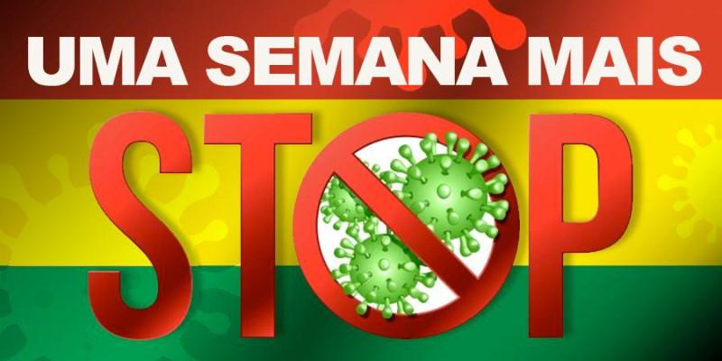 Bolívia estende fechamento de fronteira com o Brasil por mais uma semana