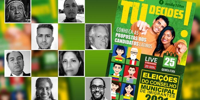 PRIMEIRO DEBATE 2021 Rumo ao Conselho Municipal de Imigrantes em São Paulo