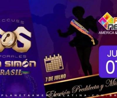 Eleição da Predileta e Miss  - Caporales San Simón 2018