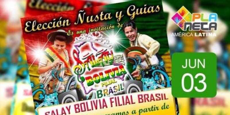 Eleição Ñusta, da Fraternidad Salay Bolivia