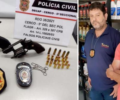 Falsos policiais que atuavam no Brás e Moóca são pressos pela  Polícia Civil do Estado de São Paulo