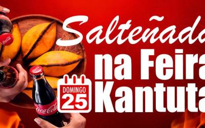 Salteñada na Feira KANTUTA neste domingo 25 de abril