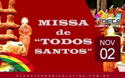 Todos convidados para missa de TODOS SANTOS em São Paulo