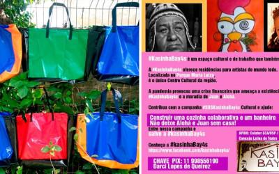 Campanha vende sacolas a preços econômicos em prol do espaço cultural KasinhaBay4s