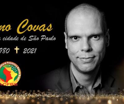 Folcloristas bolivianos emite nota oficial de condolência pelo falecimento de Bruno Covas.