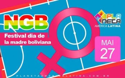 Festival Desportivo - em homenagem a mãe boliviana