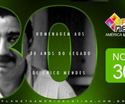 Homenagem aos 30 Anos do Legado de Chico Mendes - Curitiba