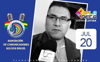 Posse de Bladimir Mamani, presidente da ASSCOMBOLBRA
