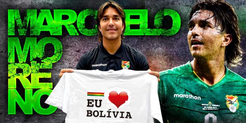 Artilheiro das eliminatórias FIFA 2022, Marcelo Moreno declarou seu amor pela Bolívia