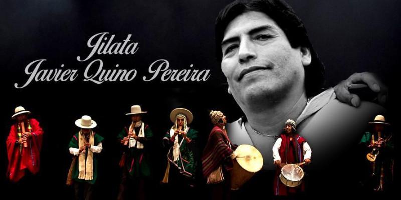 Folclore boliviano presente na missa de 7º dia do artista Javier Quino