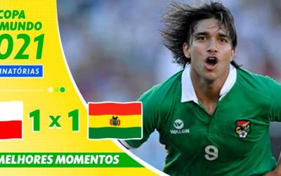 Marcelo Moreno marca e dá empate à Bolívia contra o Chile nas Eliminatórias