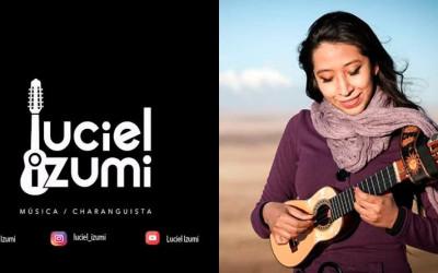 Luciel Izumi: jovem artista boliviana desponta com as melodias do Charango