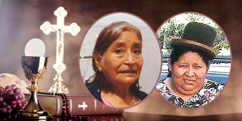 Missa na Feira Kantuta lembra o falecimento das feirantes Francisca Yujra e Maria Lopez
