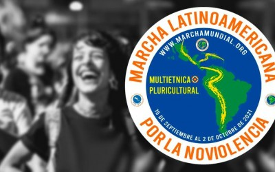 O 1ª Marcha Multiétnica e Pluricultural da América Latina pela Não-violência